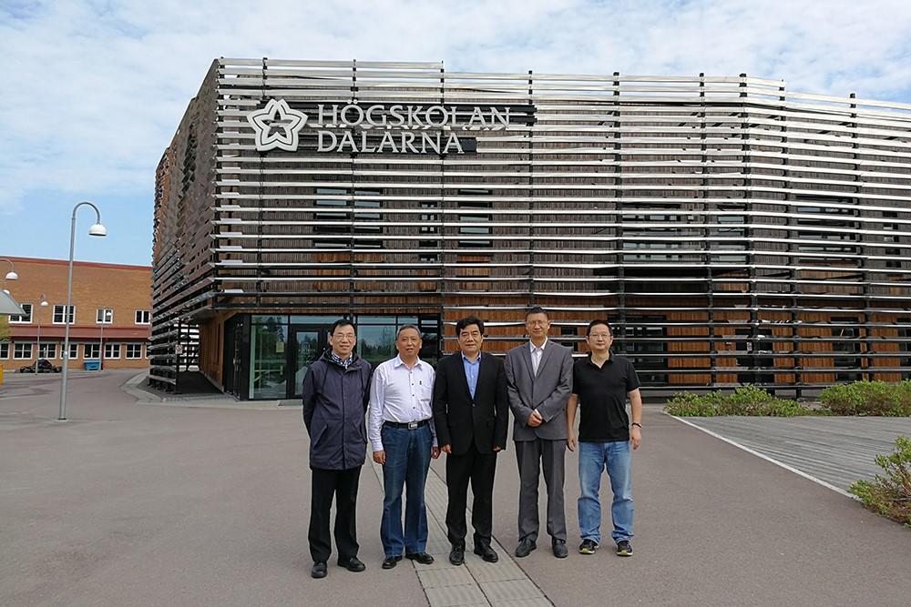 Nanchang University Visits Dalarna University - Dalarna