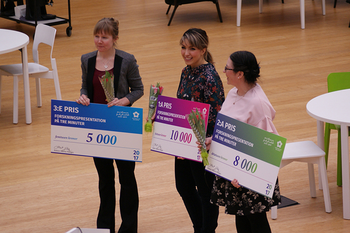 Prize Winners in the Campus Falun Library