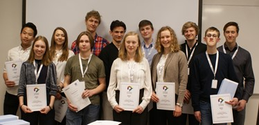 Winners of the Unga forskare event 2018