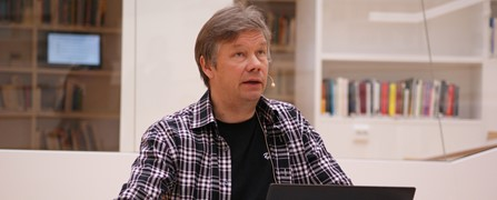 Peter Andersson gave a talk on Sami culture.