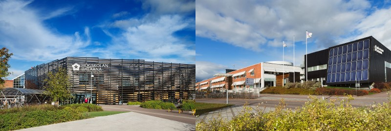 Campus Falun and Campus Borlänge exterior pictures