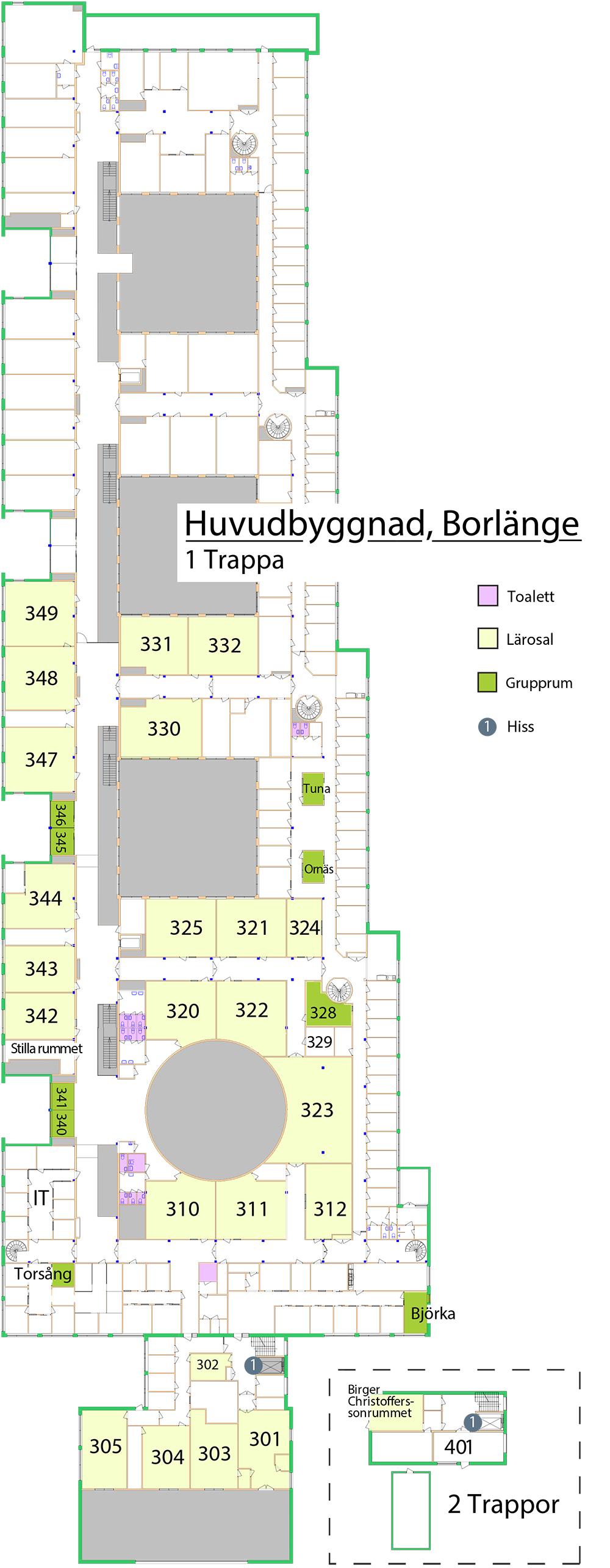 Karta Borlange.Kartor Over Campus Och Byggnader Hogskolan Dalarna