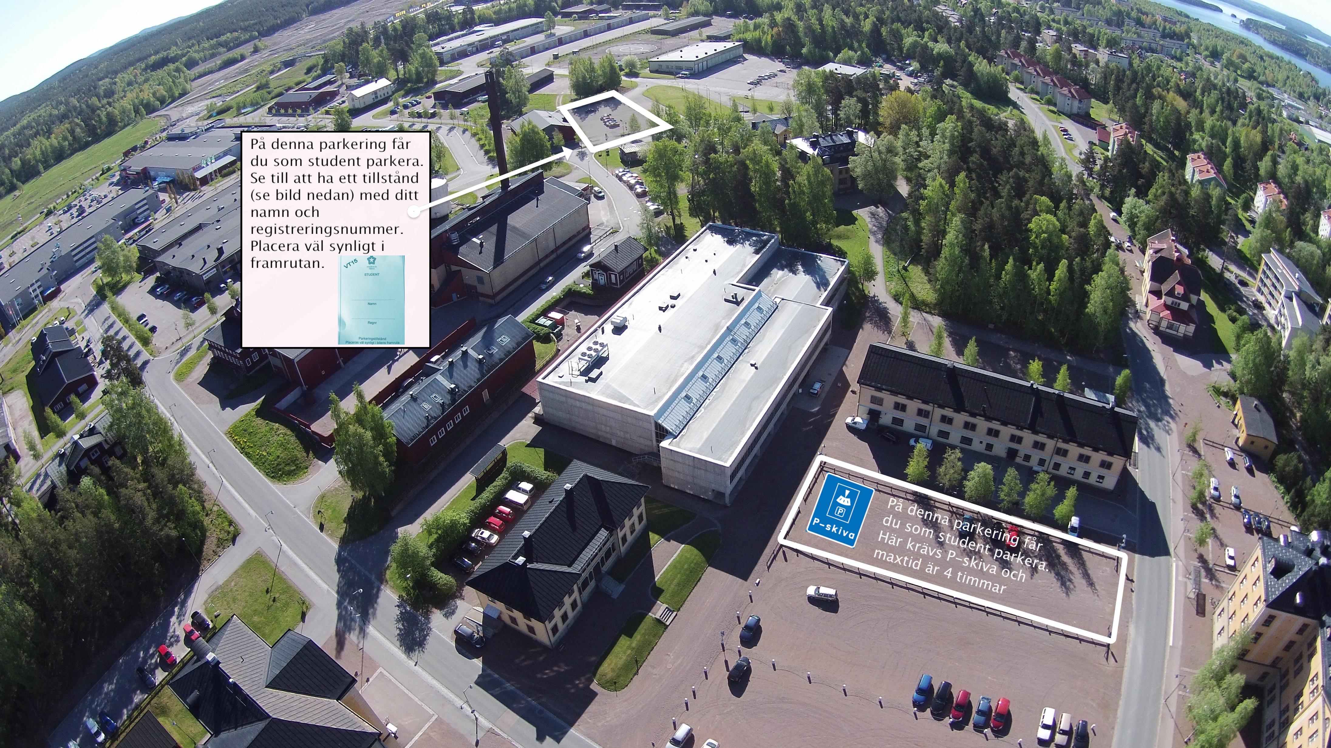 Kartor Over Campus Och Byggnader Hogskolan Dalarna